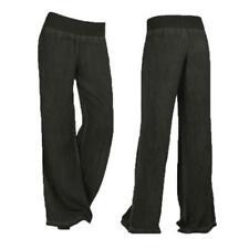 Women's wide leg pants Elastic Waisted Wide Leg Jeans Pants Denim Loose Trousers