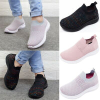 Women's Fashion Casual Fly Weave Round Toe Breathable Sneakers Running Shoes New