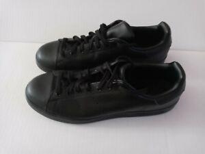 New Adidas Originals Stan Smith Triple Black Men's Sneakers Size 12