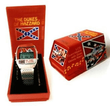 ~1981_MIB ~DUKES_OF_HAZZARD ~MUSICAL_ALARM_WATCH ~PERFECT ~WORKING ~PLAYS_ DIXIE