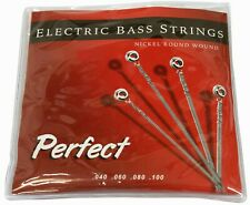 Electric Bass Guitar Perfect Strings 45-105 Nickel Round Wound