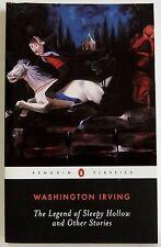 The Legend of sleepy Hollow short stories PB Washington Irving Penguin Classics
