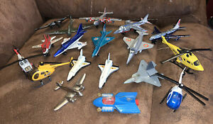 Lot Of Various Corgi Matchbox Airplanes Helicopter Space Shuttle Plane
