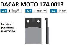 174.0013 PLAQUETTE DE FREIN ORIGINAL POLINI MALAGUTI : DUNE 50 F 12 50 PHANTOM