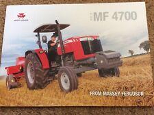 Massey Ferguson MF 4700 Tractor brochure