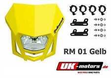 Polisport LMX Lampenmaske Scheinwerfer Gelb Suzuki DR-Z 125 DRZ 400