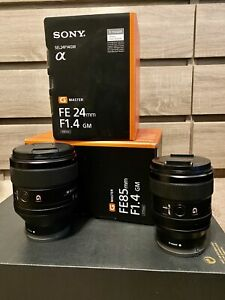 Sony G Master Lens Bundle x 24mm & 85mm GM