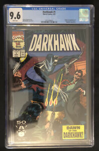 Darkhawk #1 CGC 9.6 NM+ Origin & 1st Appearance of Darkhawk WHITE PAGES