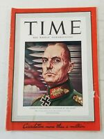 1942 Aug 31 TIME Weekly Magazine VG+ 4.5 Germany's Rundstedt Defender