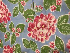 Maywood Studio Hydrangea Glenna Hailey 2201 Blue Pink Green Cotton Fabric -2 Yds