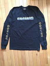 NOS Black XL RESIST BMX Long Sleeve T-shirt FREE SHIPPING