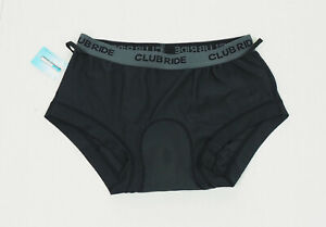 New Club Ride Padded Cycling Liner Underwear Shorts Mens Small