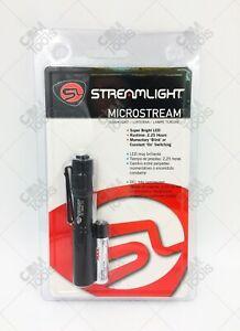 Streamlight 66318 MicroStream® LED Pen Light BLACK