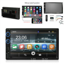 "2DIN Car MP5 USB FM Bluetooth 7"" Touch Screen Multimedia Player Stereo Radio"