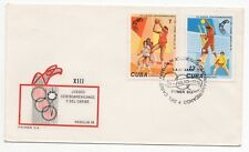 1978 CARIBBEAN First Day Cover 13th CENTRAL AMERICA GAMES MEDELLIN COLOMBIA