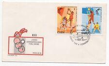 1978 13th del Caribe primer día cubierta de América Central Juegos Medellín Colombia