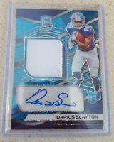 Darius Slayton Rookie Auto Patch  Spectra Fast Break Blue /75 New York Giants NY
