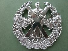 Queens Own Cameron Highlanders ORs anodised cap badge
