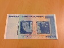 MAKE OFFER~1 Zimbabwe 100 Trillion Dollars($) AA 2008 AUNC~LIMITED TIME OFFER~