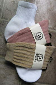 2-3 pair women/men cotton blend socks Quarter & fine crew trouser