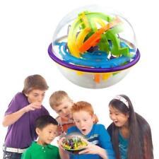 3D magic intellect maze ball puzzle rotating cube Big Children's toys 8C