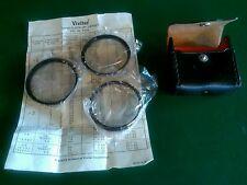 Vivitar Coated Close-Up  No1, 2 and 3, 55mm Lens Filter Kit Set & Case  Japan