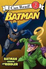 Batman Classic: Batman Versus The Riddler (i Can Read Book 2): By Donald Lemke