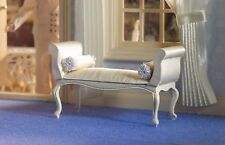 Dolls House Miniature Emporium George III Cream Window Seat 5667