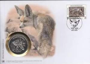 Numisbrief WWF 2008 Libyai - Vulpes Rueppelli / Zandvos (028)