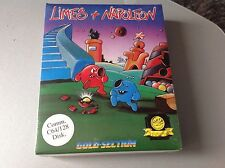 Vintage#Limes & Napoleon Commodore 64 128 Disk Boxed Factory Sealed #Sigillato