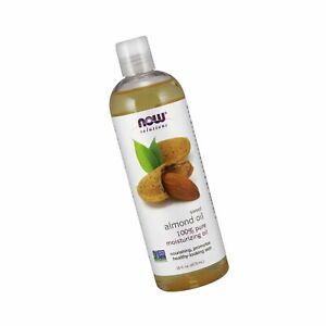 NOW Solutions, Sweet Almond Oil, 100% Pure Moisturizing Oil, Promotes Healthy...