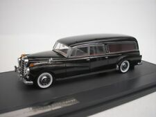 MERCEDES 300d Hearse 1956 Carro Funebre Black 1 43 Matrix Mx51302-031 Model