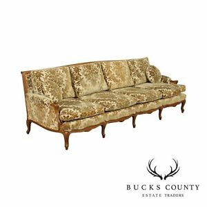 French Louis XV Style Vintage 8' Long Sofa