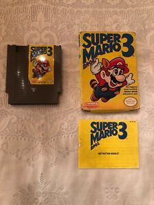 Super Mario Bros. 3 - Nintendo (NES) - Complete in Box (CIB) - Excellent!