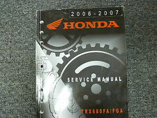 2006 2007 Honda TRX680FA TRX680FGA Fourtrax Rincon ATV Service Repair Manual