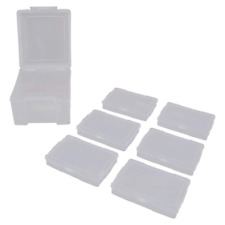 Advantus Photo Keeper Box with 6 Individual Clear Cases Holds up to 600 Photos