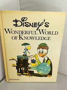 Vintage DISNEY'S WONDERFUL WORLD OF KNOWLEDGE Inventions Hardcover Book Vol. 3