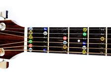 Guitar Fret Stickers by Long Beach Music