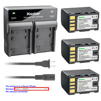 Kastar Battery Rapid Charger for JVC BN-VF823 BN-VF823U JVC BN-VF923 BN-VF923U