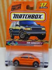 Matchbox VW Concept 1 Cool Concepts #17 of 75 Series 3 1997