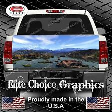 Mountain Stream Truck Tailgate Wrap Vinyl Graphic Decal