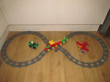 Lego Duplo Train , Tender & Track Also Includes Plane Quad Bike & Figure's