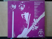 Double disques vinyles lp's MUDDY WATERS. Back in the Early Days