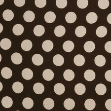 scalamandre POLKA DOT Fabric Chocolate brown/beige OUTDOOR/INDOOR 30yd gorgeous!