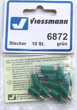 Viessmann 6872 Bouchon de trou de croix vert, 10-pc # Neuf Emballage d'ORIGINE #
