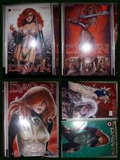 """DAWN"" LOT - 5 Comics & Mcfarlane Figure Adult Character ""Dawn"" Joseph Linsner"