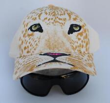 Unique Leopard Face with attached Sunglasses SAN DIEGO ZOO Bozkee Baseball Cap