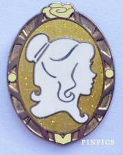 Belle Princess Cameo Beauty and the Beast Mystery Disney Pin 102159
