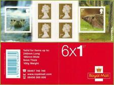 2010 PM23 Mammals Commemorative Machin Cylinder W1 W1 Booklet