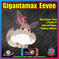 Shiny EEVEE Gigantamax | 100% Legal | 6IV | Pokemon Sword Shield